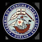 Logo Academia de Ciencias, Artes y Letras de Huelva